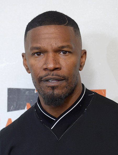 Jamie Foxx at ABC News' Good Morning America Times Square Studio on September 12, 2017 in New York City.   Photo: Getty Images