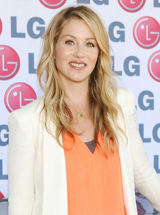 Christina Applegate at the LG Washing Machine Drum event in 2012 | Source: Getty Images