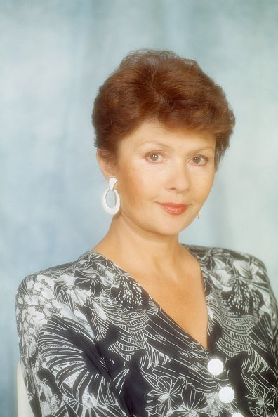 L'actrice française Dany Carrel. Photo : Getty Images