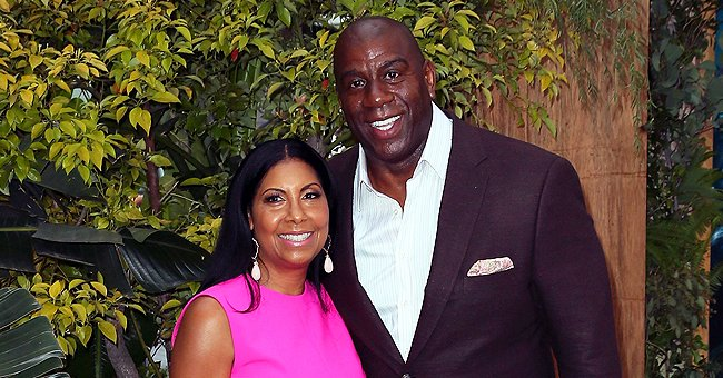 Cookie Johnson Shares Throwback 4th of July Pic with Husband Magic and Encourages People to Vote
