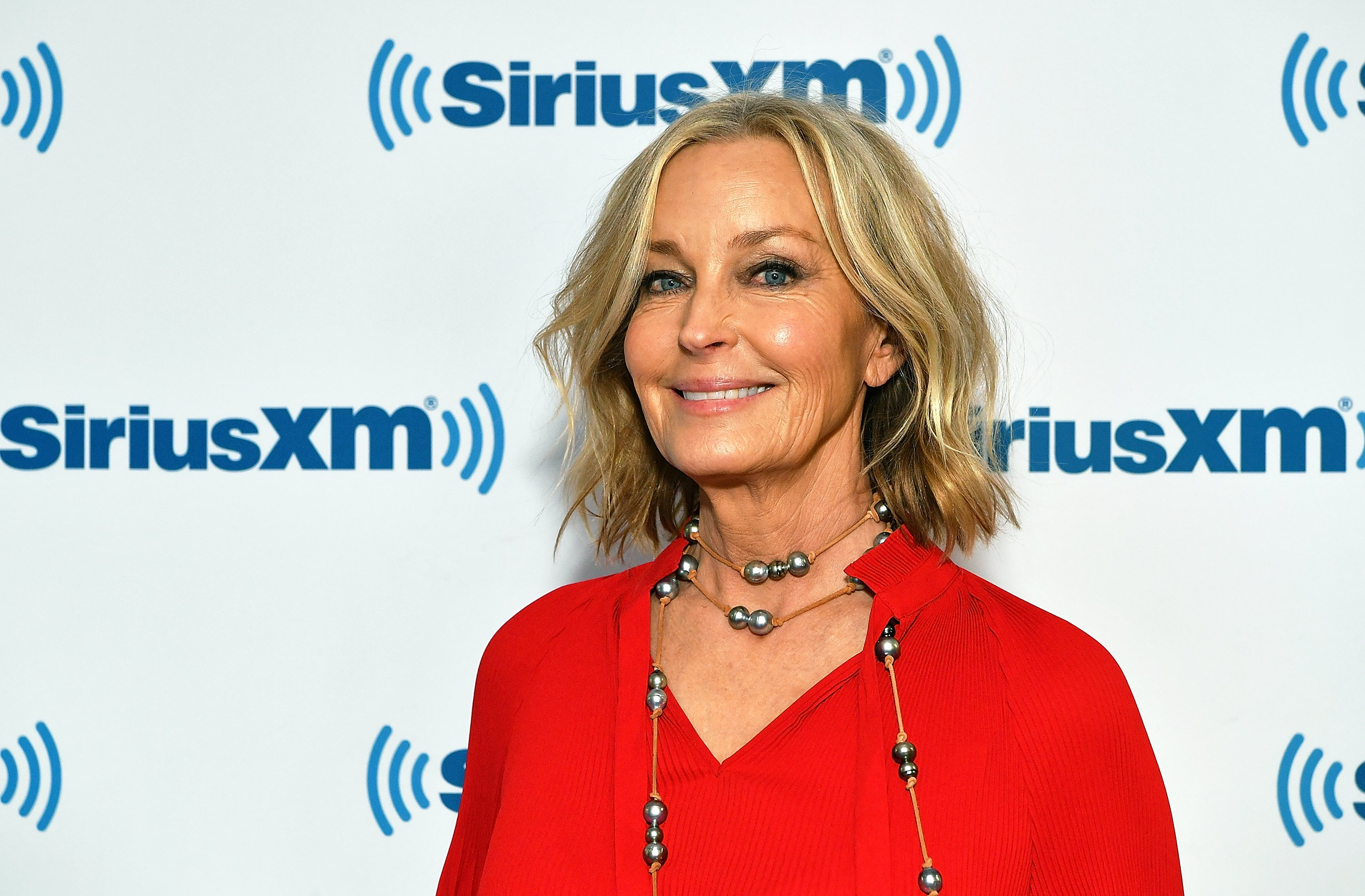 Iconic star Bo Derek visits the SiriusXM Studios in 2009 in New York City.   Photo: Getty Images