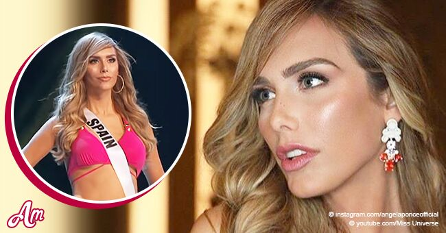 Transgender Miss Spain Angela Ponce stuns with her provocative bikini in Miss Universe