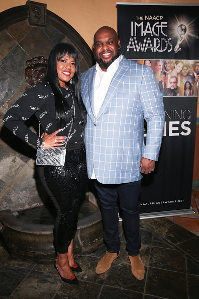 "Pastor John Gray and wife Aventer Gray attend NAACP Image Awards special screening of OWN's ""The Book Of John Gray"" at Raleigh Studios 