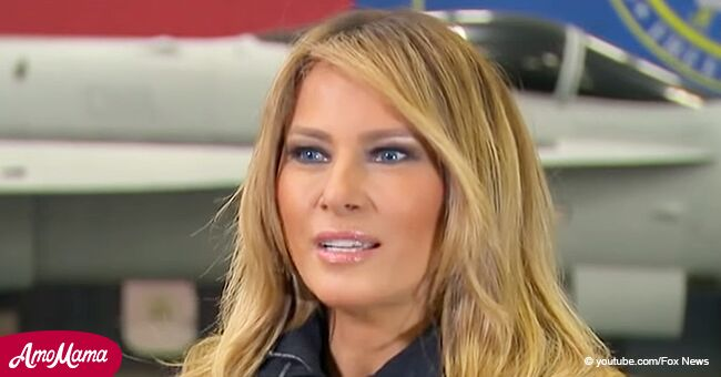 Melania Trump abruptly questioned about Donald Trump's second term in an exclusive interview