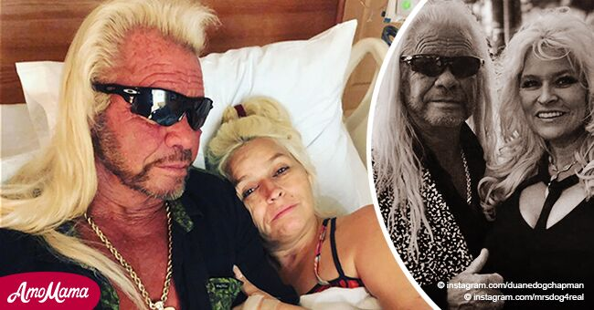 Duane 'Dog' Chapman cries about being in a 'bad dream' as Beth's cancer spreads to her lungs