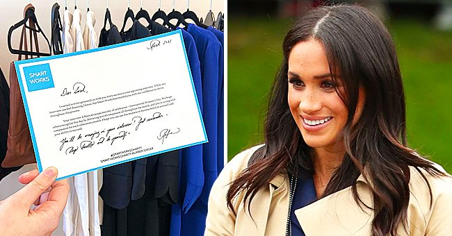 See Meghan Markle's Perfect Calligraphy in Notes Sent to Women at Smart Works Looking for Jobs