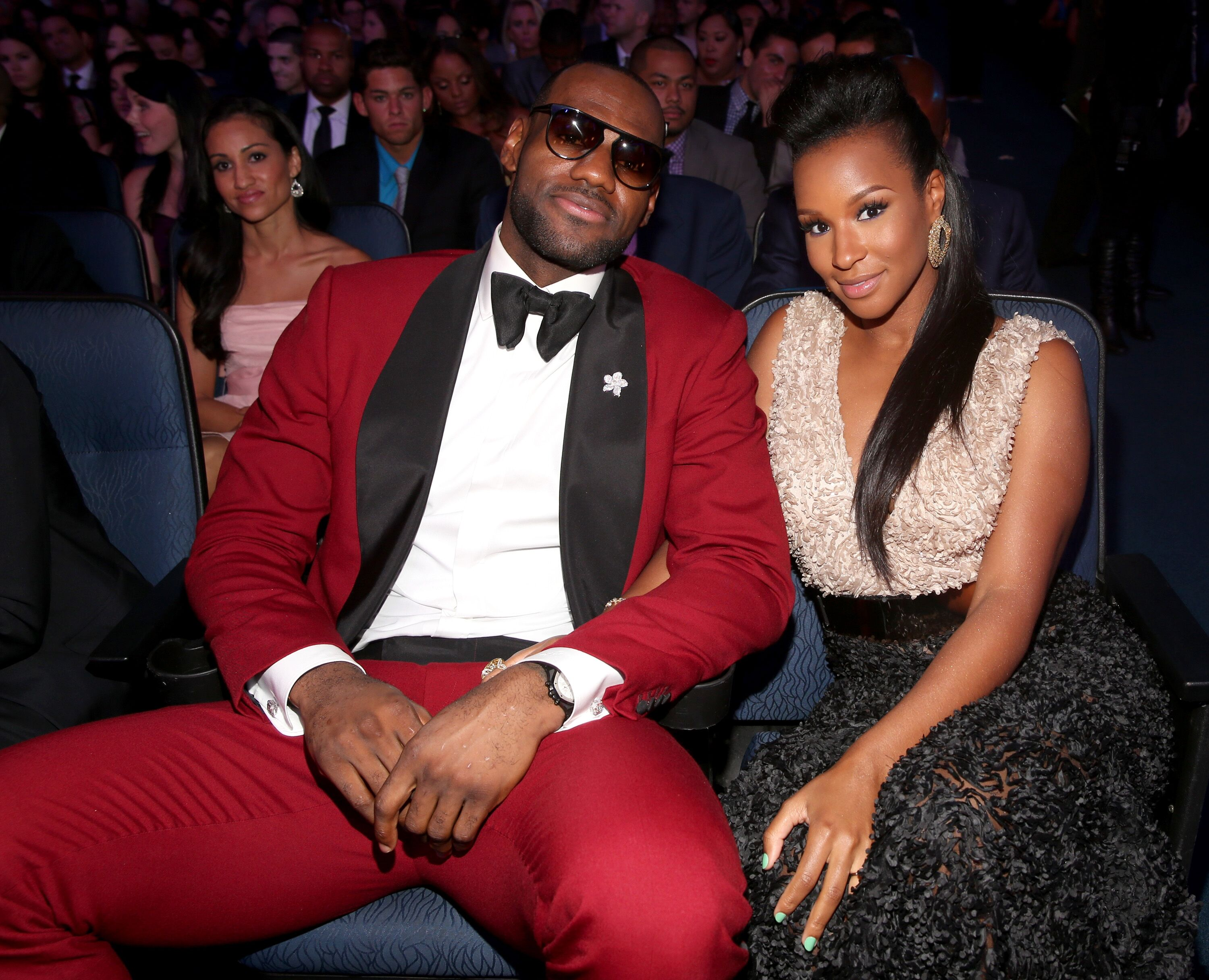 LeBron and Savannah James at NBA Gala/ Source: Getty Images