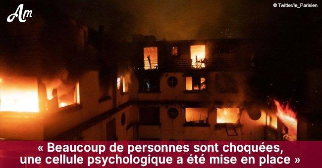 Incendie à Paris : 8 morts et 31 blessés - une femme de 41 ans est arrêtée (Vidéo)