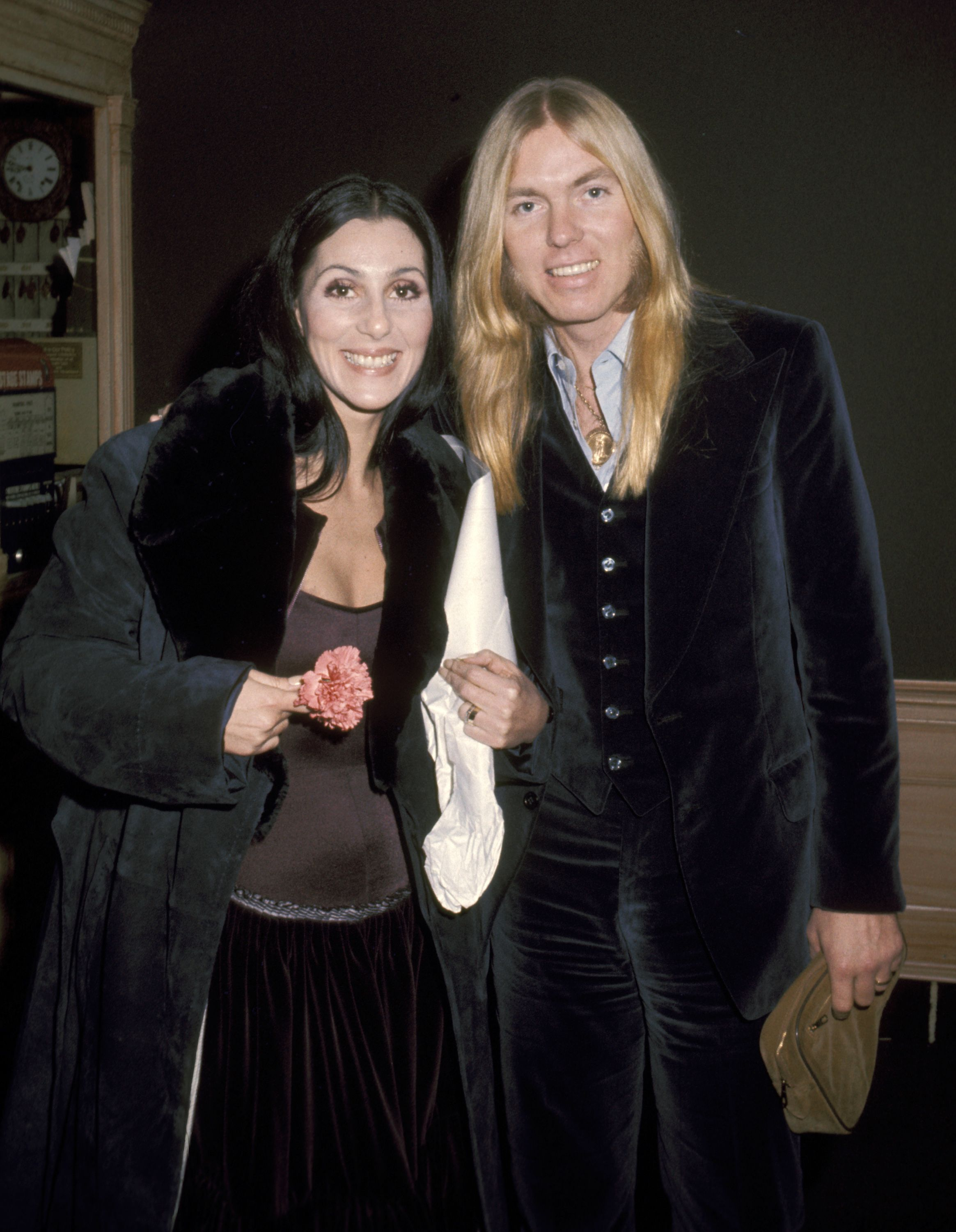 Cher and Gregg Allman in Georgetown | Source: Getty Images