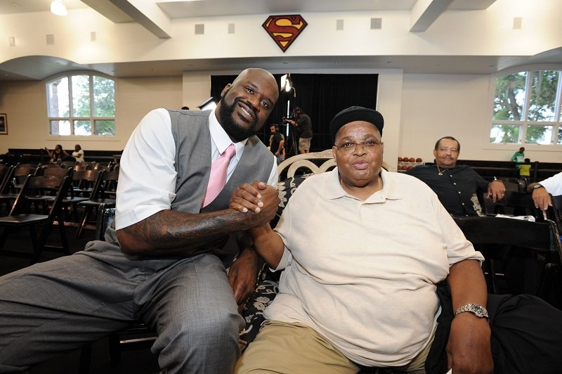 Shaquille O'Neal and Phillip Harrison on June 3, 2011 in Windermere, Florida | Photo: Getty Images