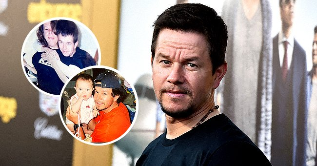 Mark Wahlberg on June 1, 2015 in Westwood, California and Walhberg's Instagram post from September 2, 2021 | Photo: Getty Images - Instagram.com/markwahlberg