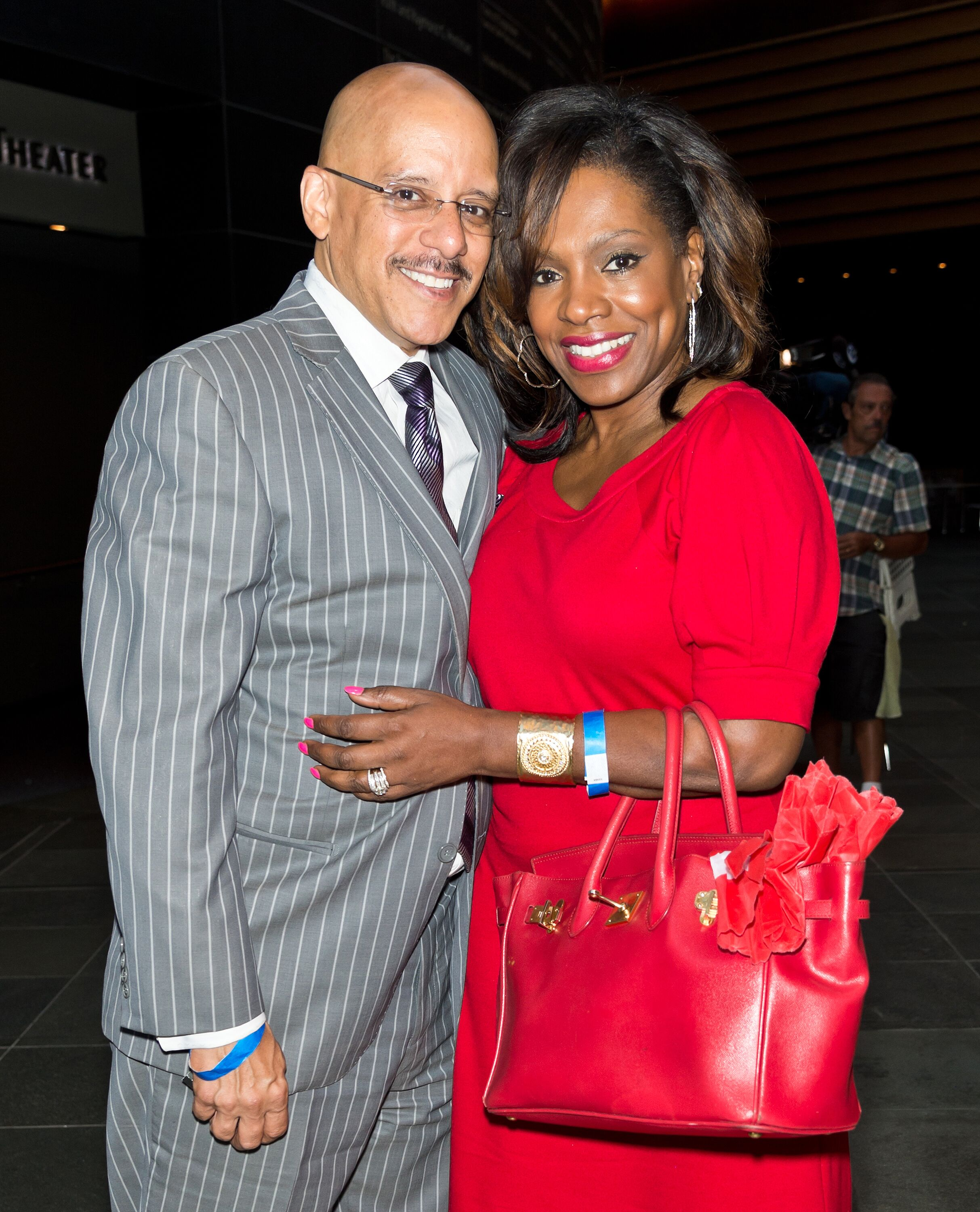 "Sheryl Lee Ralph  and Senator Vincent Hughes at a red carpet screening of ""The Butler"" in 2013/ Source: Getty Images"
