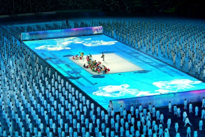 2008 Summer Olympics opening ceremony | Source: Wikimedia Commons