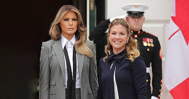 Melania Trump Sent Well Wishes to Justin Trudeau's Wife Sophie Who Is Recovering from COVID-19