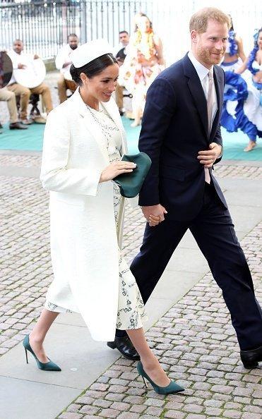 Meghan Markle und Prinz Harry in London (März 2019)   Quelle: Getty Images