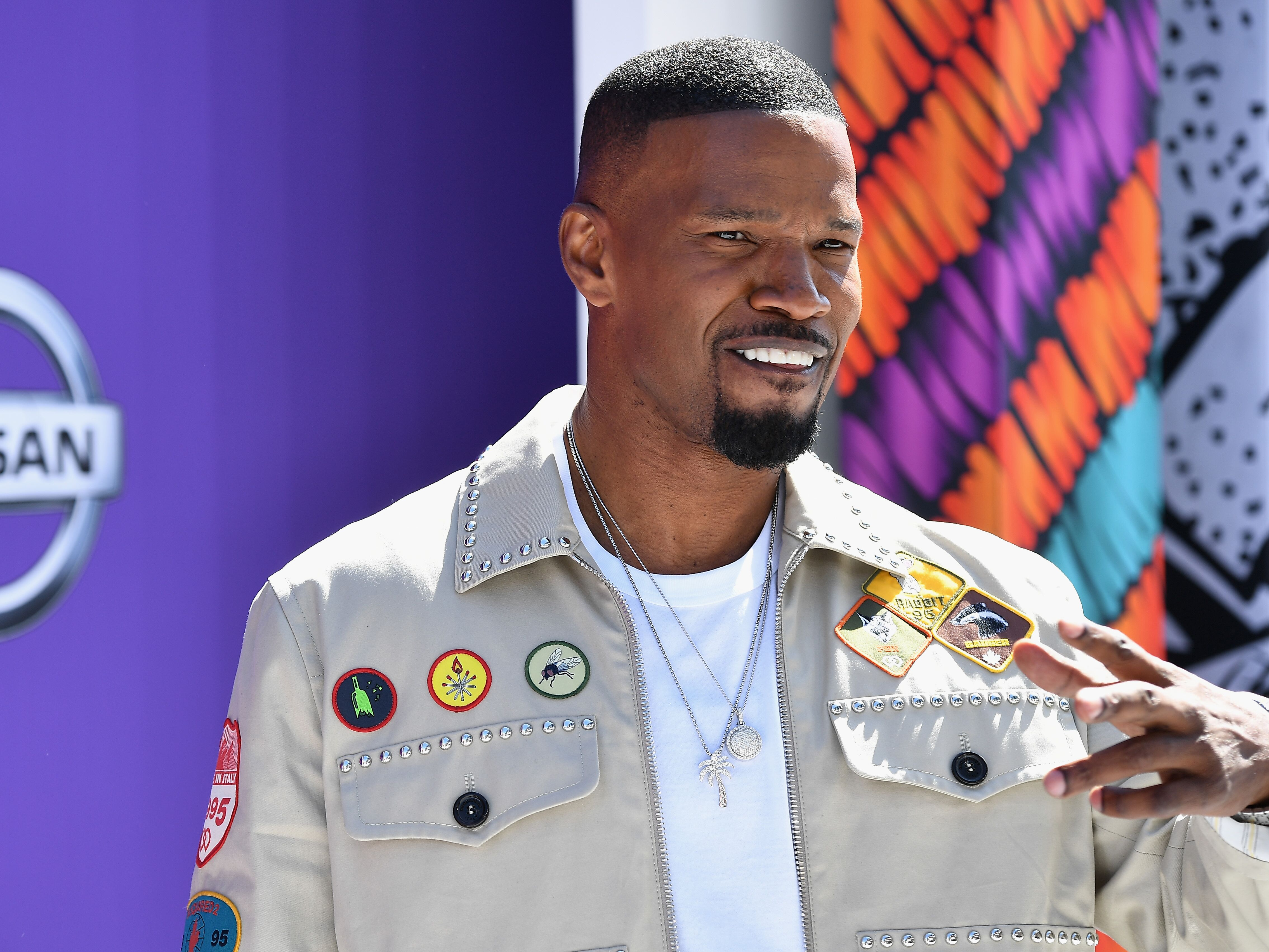Jamie Foxx attends the 2018 BET Awards at Microsoft Theater | Photo: Getty Images