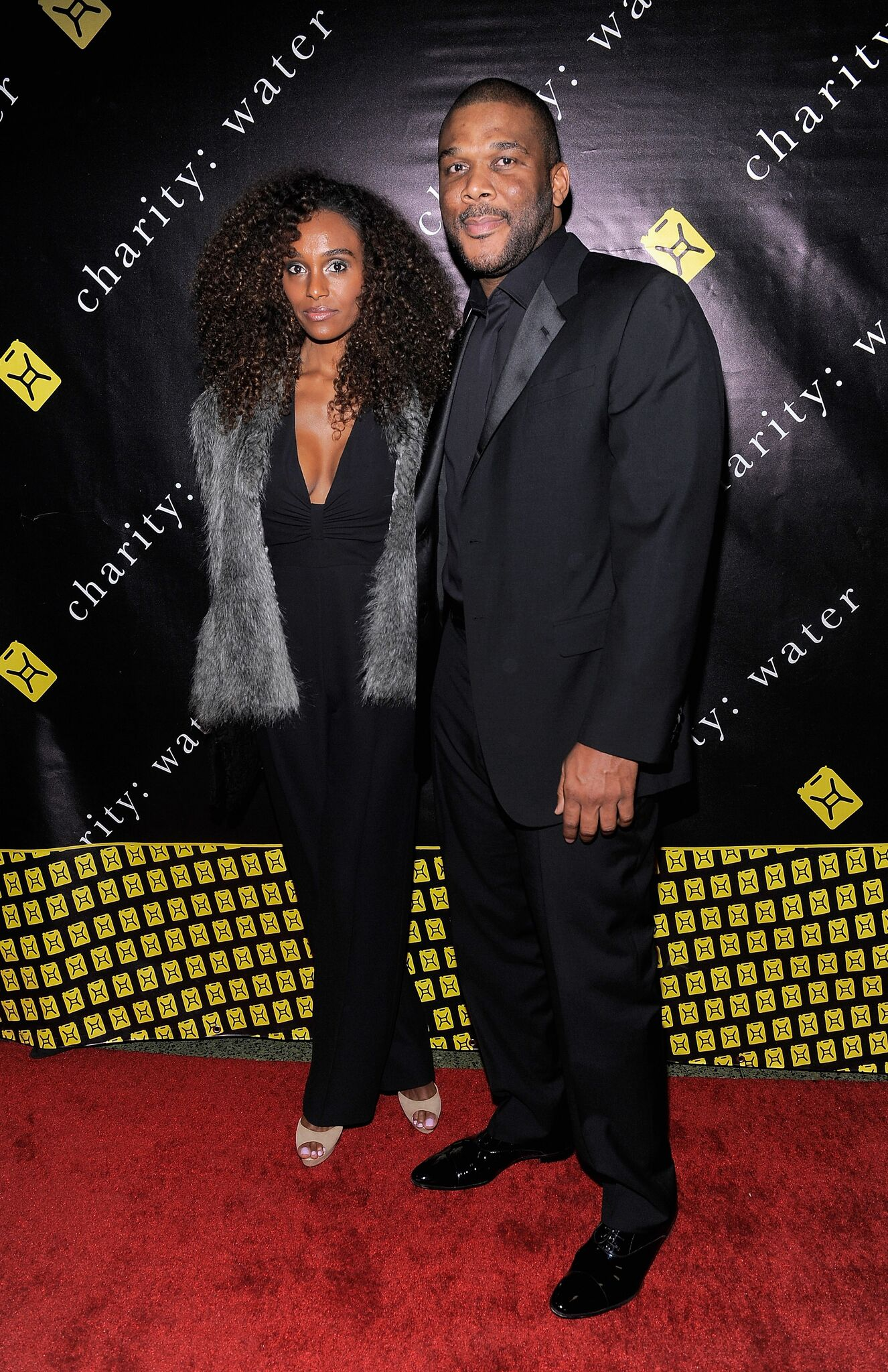Model Gelila Bekele and writer/director Tyler Perry pose for a photo at the 6th Annual Charity: Ball at the 69th Regiment Armory | Photo: Getty Images