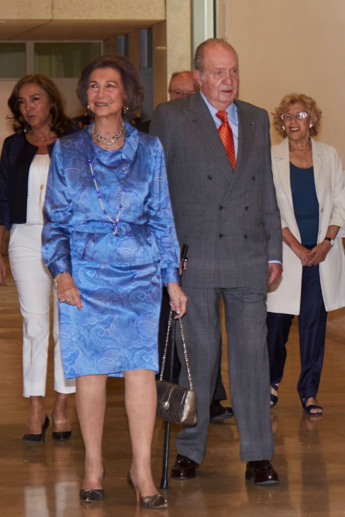 Don Juan Carlos y Doña Sofía│Imagen tomada de: Getty Images