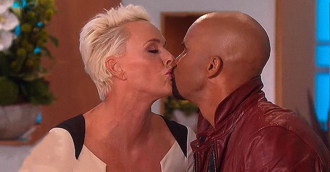 SWAT Star Shemar Moore Locks Lips with His Married 'Crush' Brigitte Nielsen Twice on 'The Talk'
