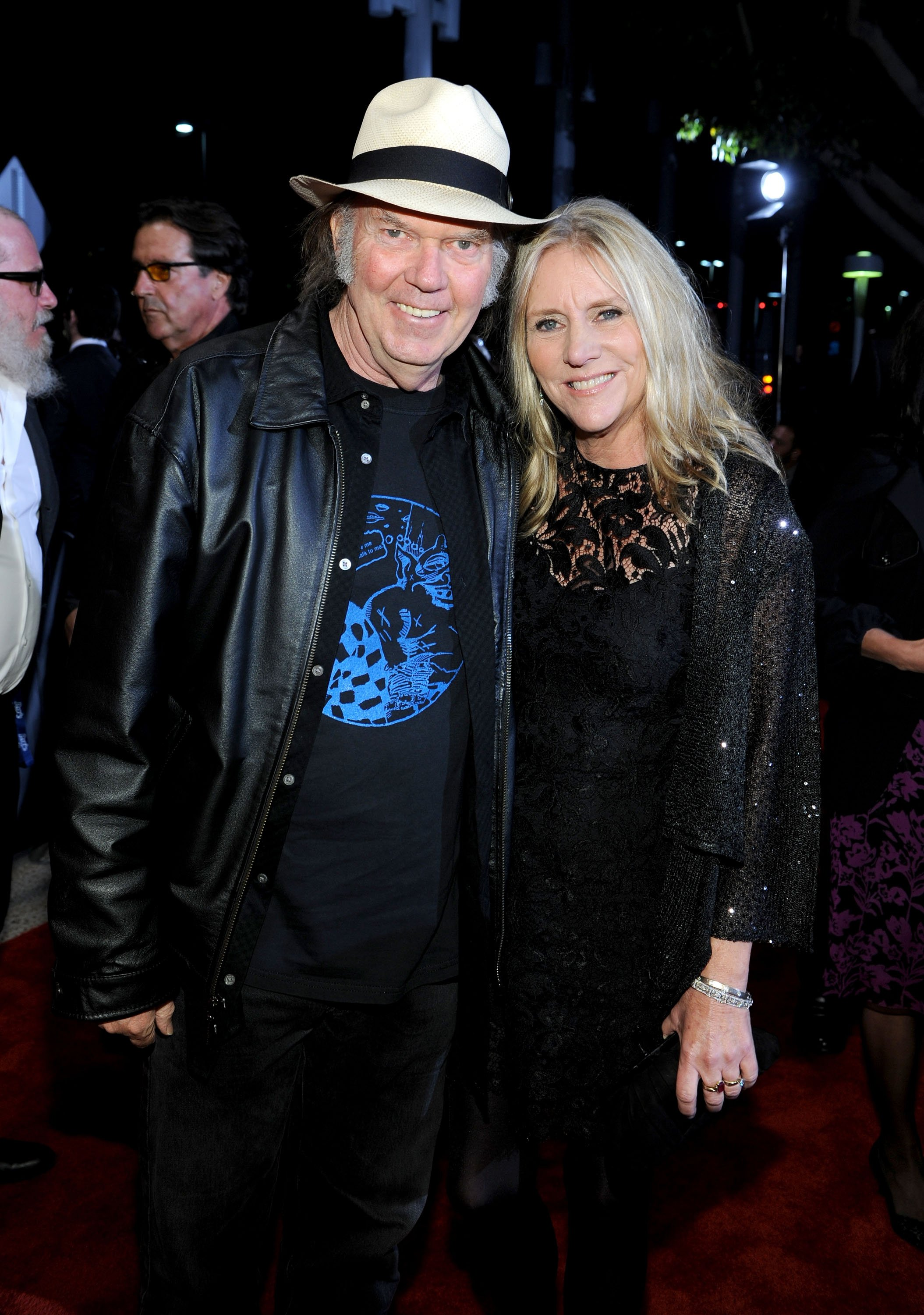 Neil Young and Pegi Young attend the 2012 MusiCares Person of the Year Tribute in Los Angeles, California on February 10, 2012 | Photo: Getty Images