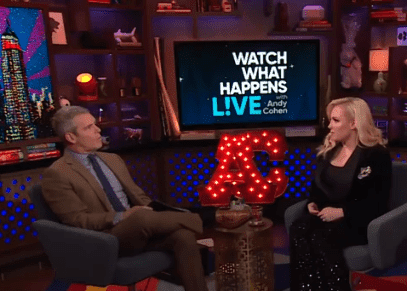Meghan McCain talks about her fight with Abby Huntsman with Andy Cohen on his late night show. | Source: YouTube/ Watch What Happens Live with Andy Cohen.