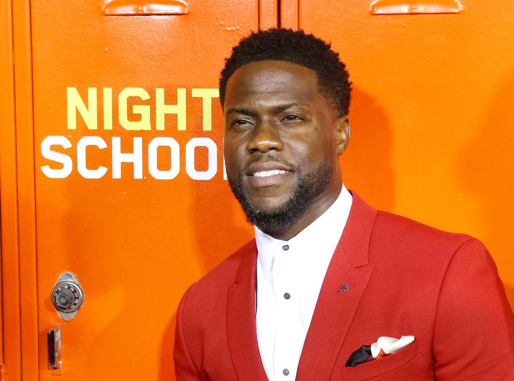 """Kevin Hart at the Los Angeles premiere of Universal Pictures' """"Night School"""" held at Regal Cinemas L.A. LIVE Stadium 14 on September 24, 2018   Photo: Getty Images"""