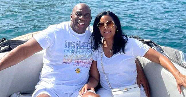 Look Inside Magic Johnson & His Beloved Wife Cookie's Romantic Lavish Vacation in Greece