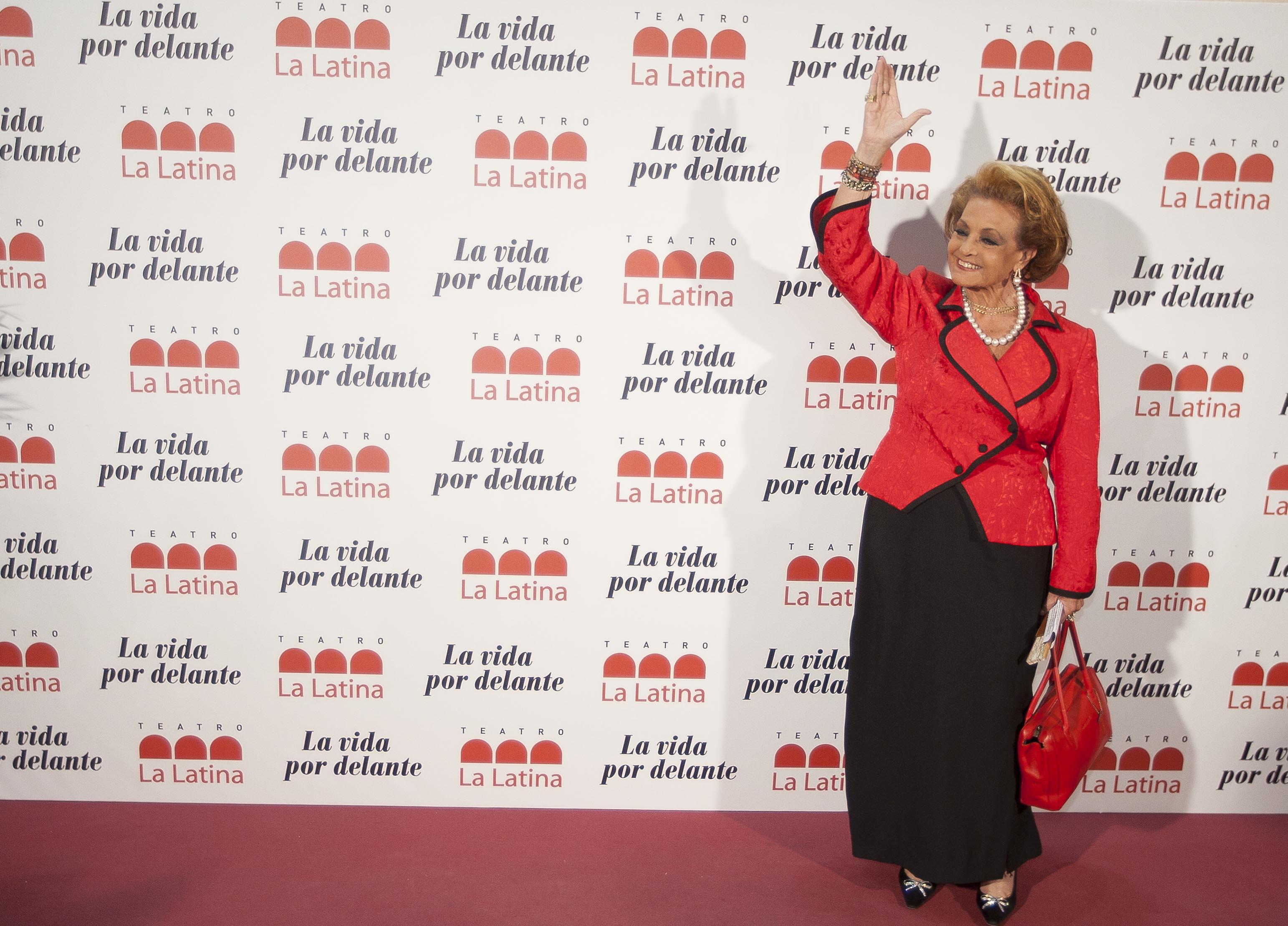Carmen Sevilla en el teatro La Latina, Madrid, 2010. || Fuente: Getty Images