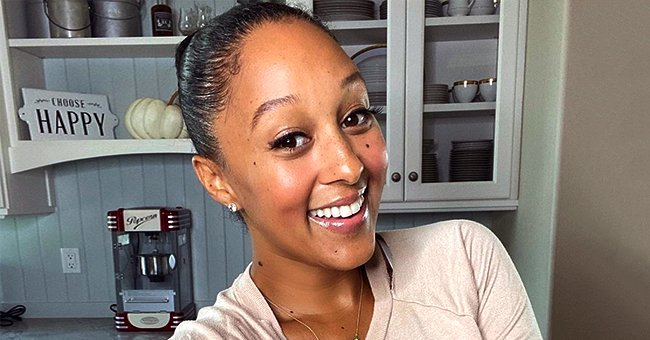 Tamera Mowry's Daughter Ariah Rocks a TLC Shirt as She Spends Time with Her Dad Adam Housley