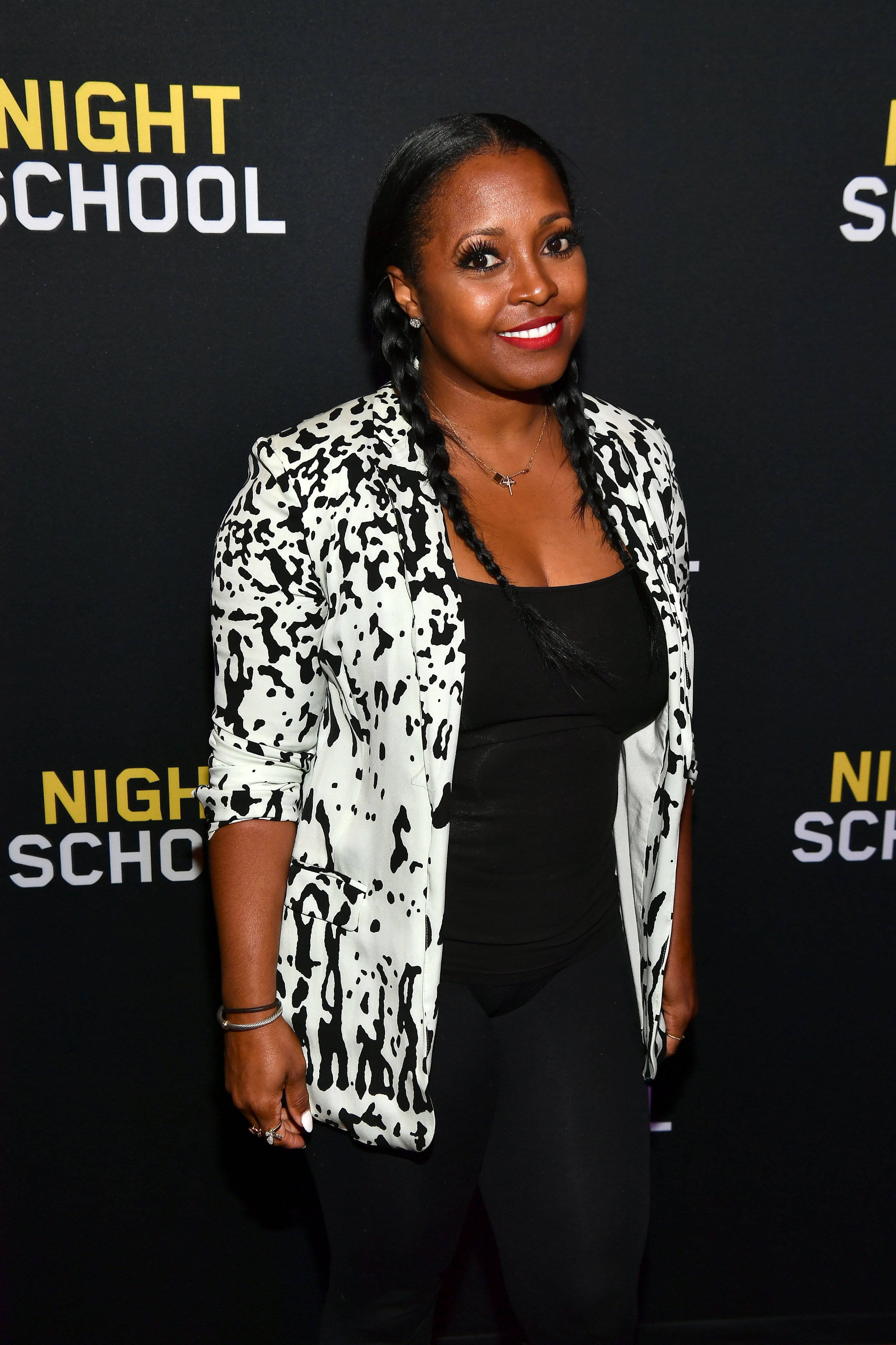 "Keshia Knight Pulliam at ""Night School"" Red Carpet Screening on Sept. 10, 2018 in Atlanta, Georgia 