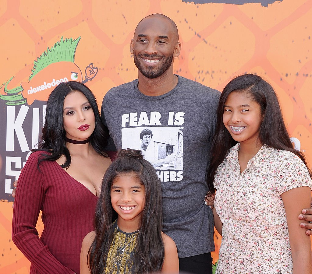 Kobe Bryant, Vanessa Laine Bryant and their daughters arrive at Nickelodeon Kids' Choice Sports Awards at UCLA's Pauley Pavilion on July 14, 2016 in Westwood, California.| Photo: Getty Images