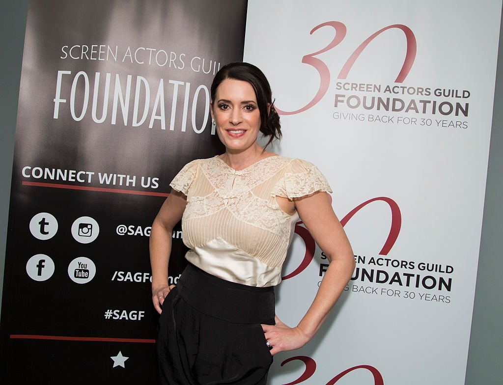 """Paget Brewster attends SAG Foundation's """"Conversations"""" series screening of """"Grandfathered"""" at SAG Foundation Actors Center 
