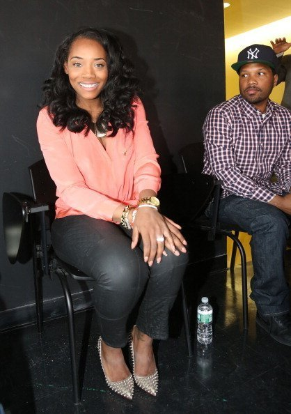 Yandy Smith and Mendeecees Harris visit Wadleigh High School for Performing Arts In Harlem | Photo: Getty Images