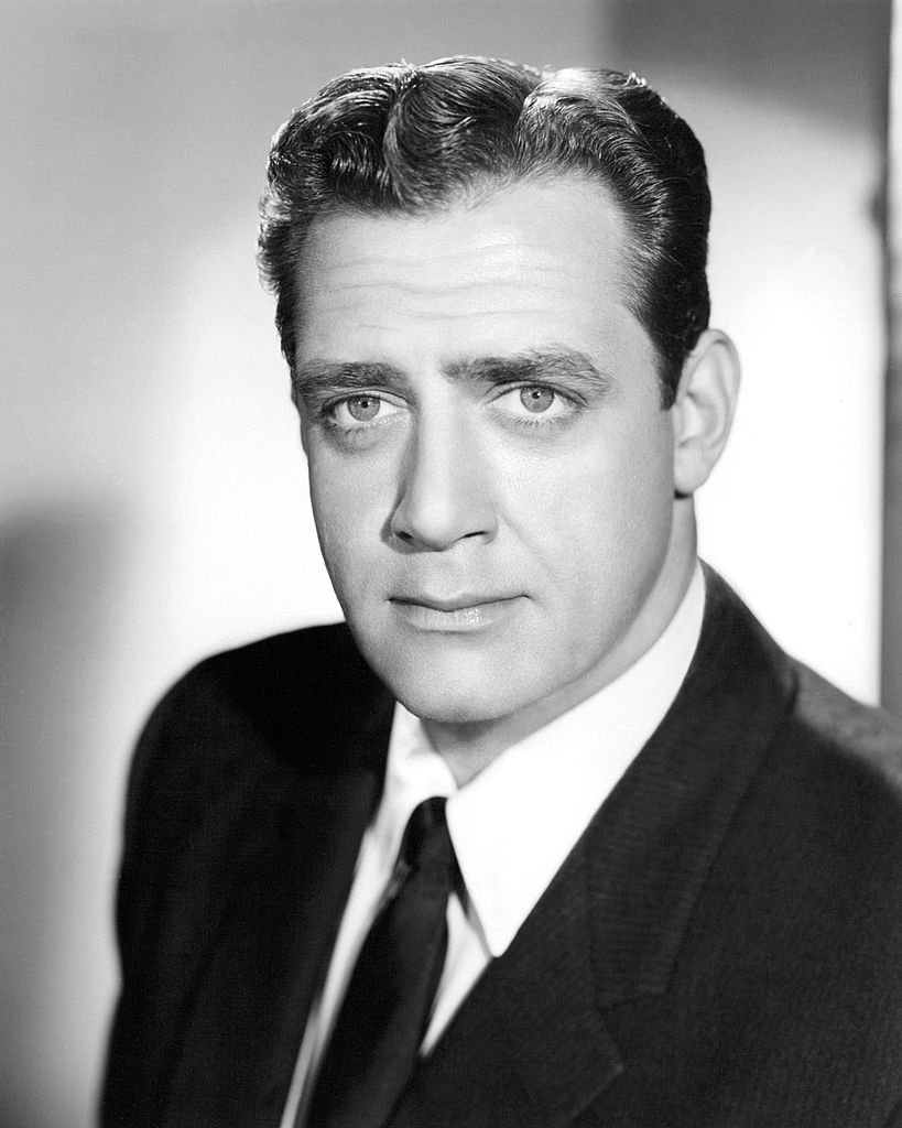 A portrait of Canadian actor Raymond Burr, circa 1957 | Photo: Getty Images