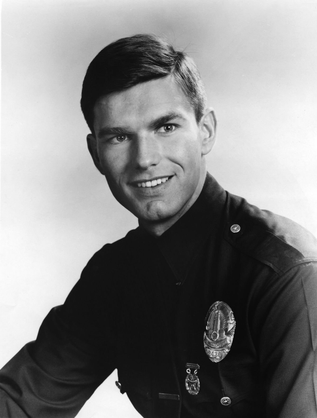 Kent McCord co-star of the hit 1960's and1970's TV show Adam 12 in a portrait from the first season on January 01, 1968 | Photo: Getty Images