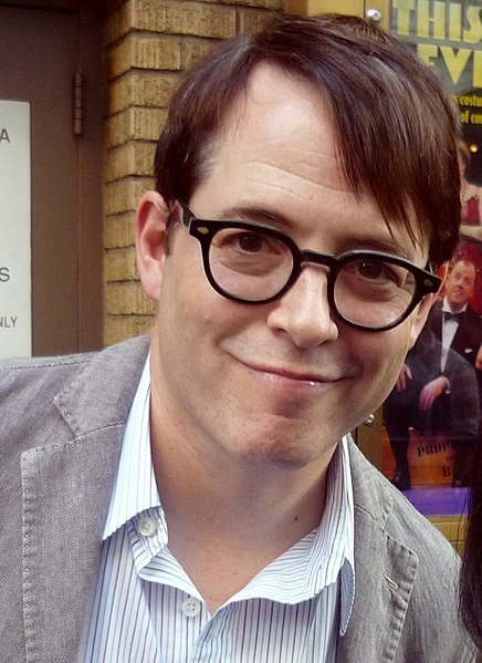 Matthew Broderick at Broadway, NYC in September 2012. | Source: Wikimedia Commons