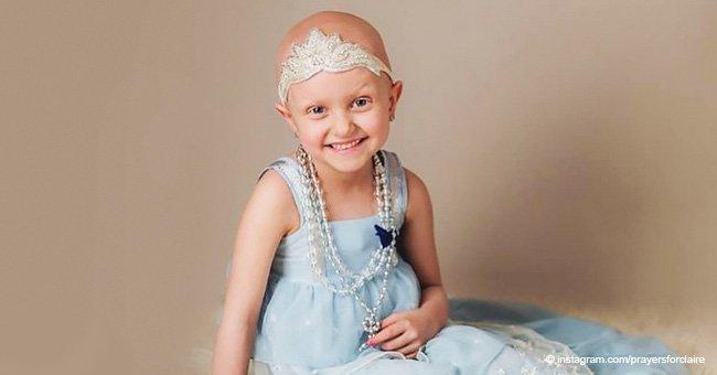 Niña superó el cáncer y piden que oculte sus cicatrices, pero su mamá tiene una respuesta hermosa
