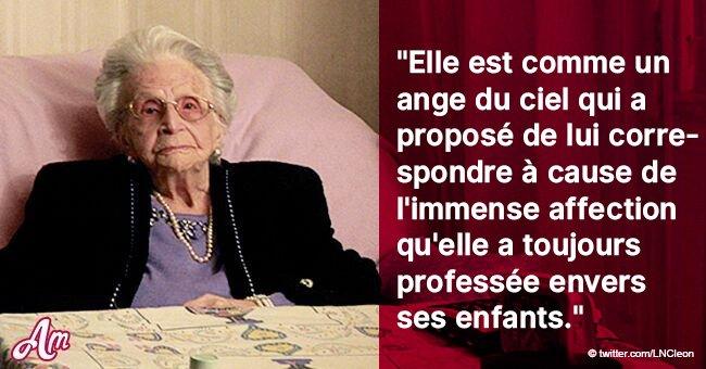 La touchante lettre d'un fils dédié à sa mère âgée de 106 ans, racontant sa vie difficile