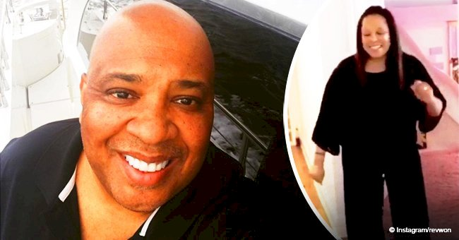 Rev Run melts hearts as he shares video of his wife of 24 years dancing ahead of her birthday