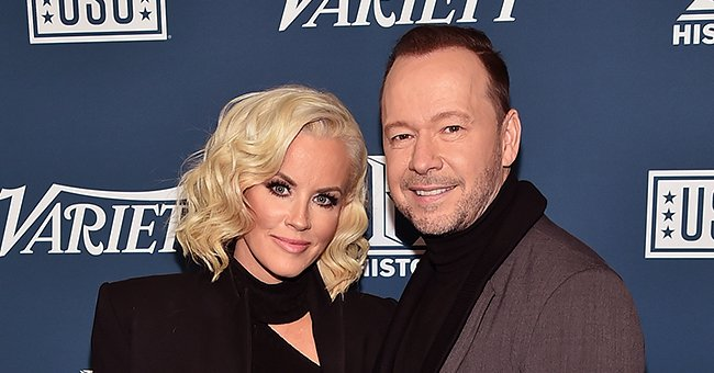 Jenny McCarthy and Donnie Wahlberg at Variety's 3rd Annual Salute To Service at Cipriani 25 in New York City | Photo: Theo Wargo/Getty Images