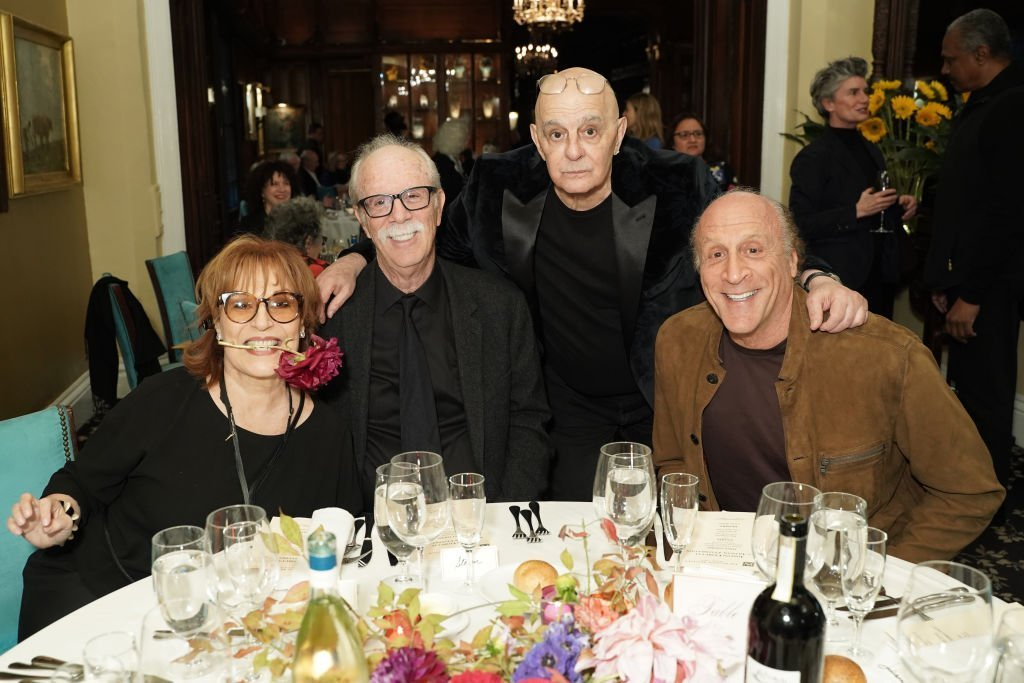 Joy Behar, Steve Janowitz, and friends on October 05, 2019 in New York City | Source: Getty Images