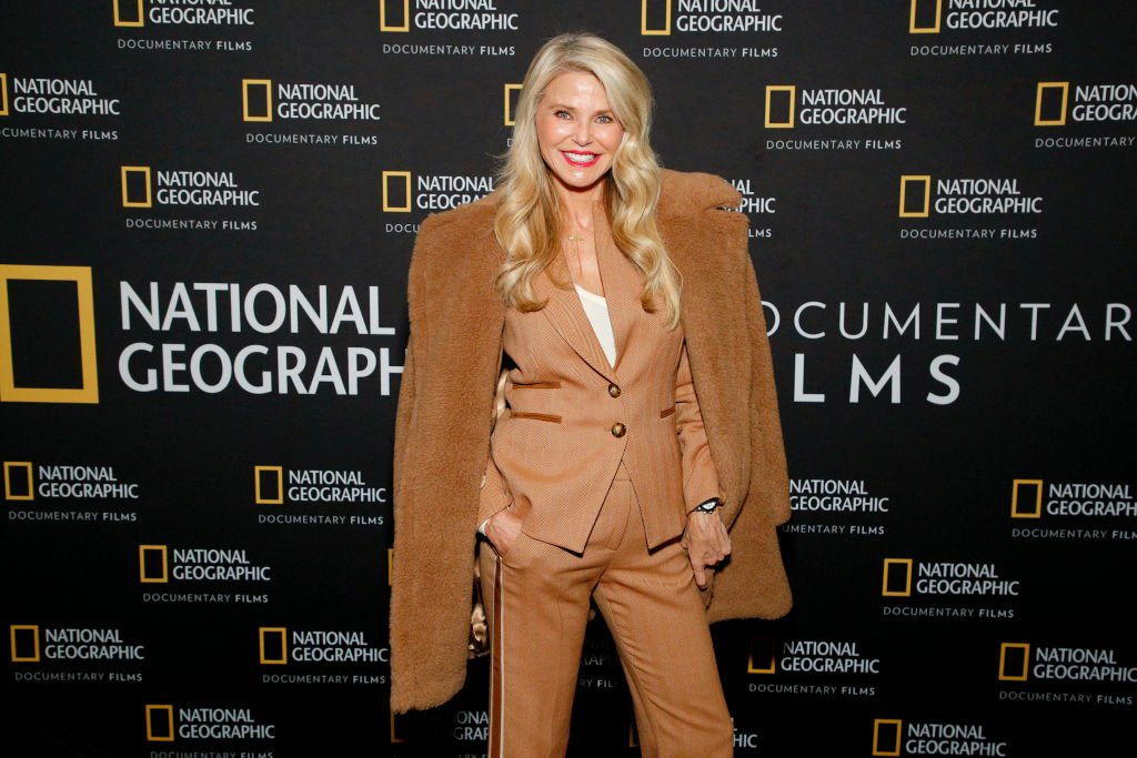 """Christie Brinkley at a Special Screening Of National Geographic's Oscar-Nominated Documentary """"The Cave"""" with Film Subject Dr. Amani Ballour at AMC Lincoln Square Theater on February 03, 2020   Photo: Getty Images"""
