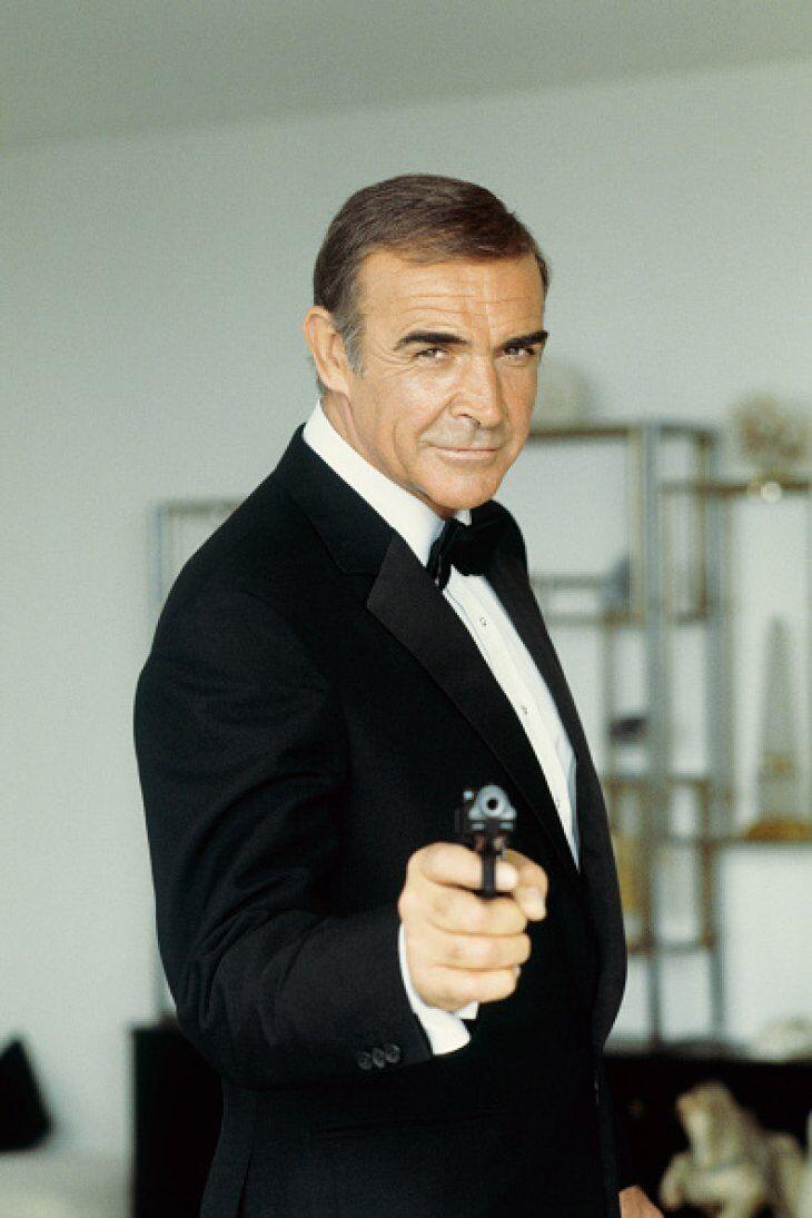Sean Connery, le premier James Bond. l Source : Getty Images