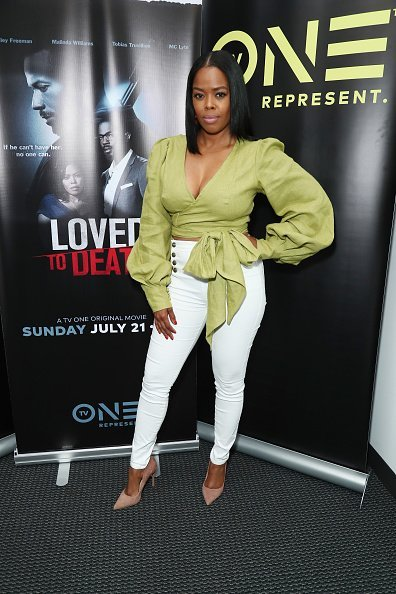 Malinda Williams attends LA Press Junket For TV One's A Month Of Love, Lies, And Murder at TV One in Los Angeles | Photo: Getty Images
