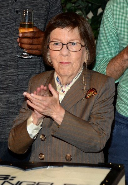 Linda Hunt attends the 100th episode celebration of NCIS: Los Angeles held at Paramount Studios on August 23, 2013, in Hollywood, California.  Source: Getty Images.