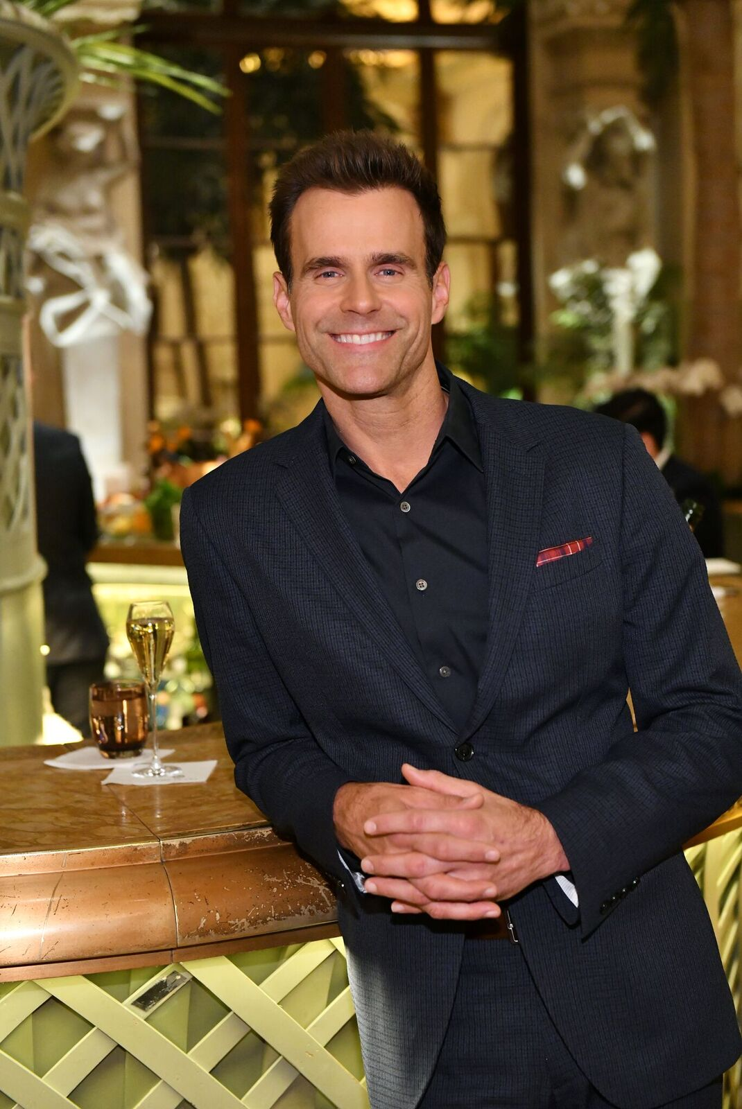 Cameron Mathison attend Hallmark Channel's celebration of the 10th Anniversary Of COUNTDOWN TO CHRISTMAS with a World Premiere Screening of Christmas At The Plaza on November 18, 2019   Photo: Getty Images