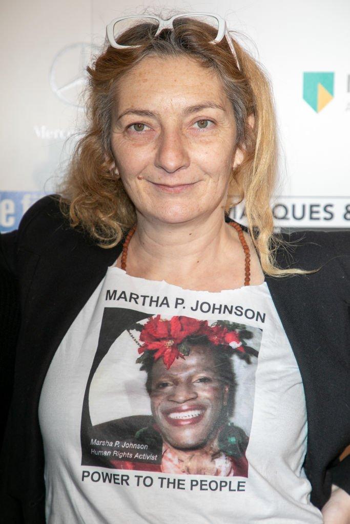 Corinne Masiero le 5 février 2019 à Paris. l Source : Getty Images