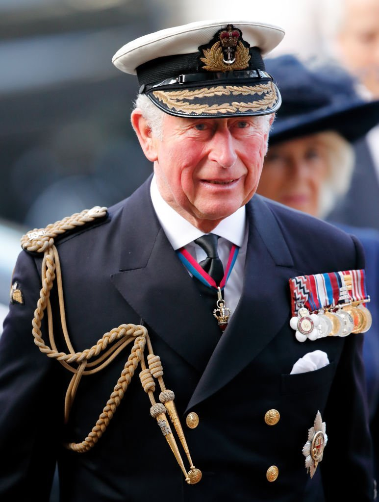 Le prince Charles, prince de Galles assiste à un service d'action de grâces. | Photo : Getty Images
