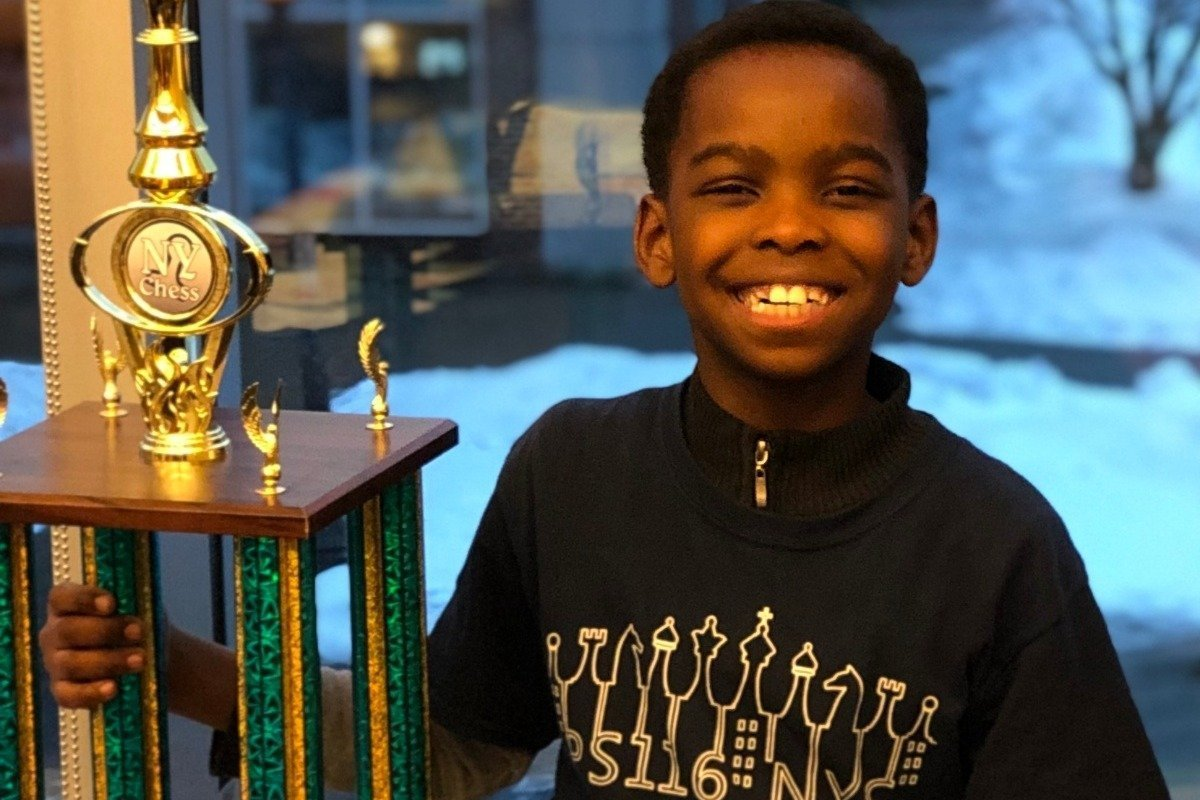 Tanitoluwa won the title of New York State Primary Chess Champion! (Top Players K - 3rd Grade) | Source: GoFundMe/just-tani