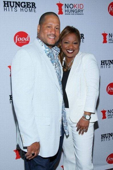 """Pat and Gina Neely at the screening of """"Hunger Hits Home"""" on April 12, 2012 